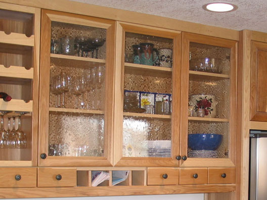 Cabinets Stained Glass Seeded Glass Cabinets Built